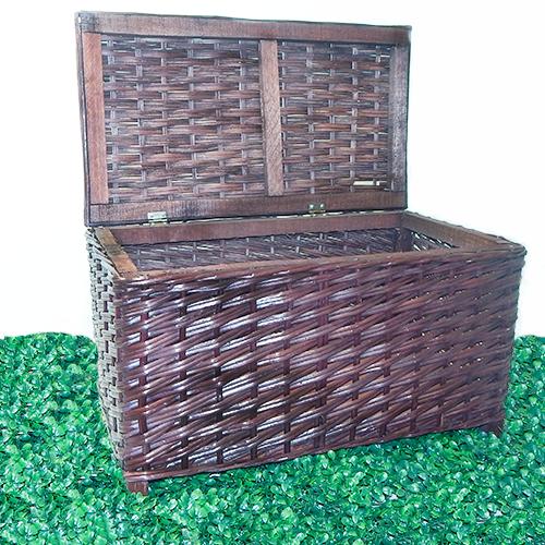 Baules en venta mimbre vintage de madera canastas y arcones - Baules de mimbre ...