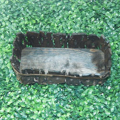 Cestos navide os de madera canastas y arcones navide os - Cestos de madera ...